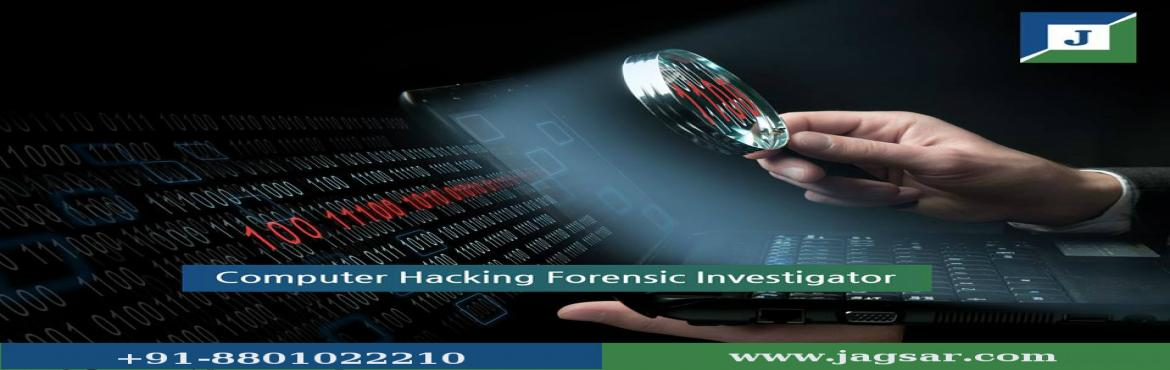 Book Online Tickets for CHFI Certification Training at Jagsar In, Hyderabad. Computer hacking forensic investigation is the course of detecting hacking attacks and properly extracting evidence to report the crime and take measures to prevent similar future activities. Computer forensics enables the systematic and careful iden