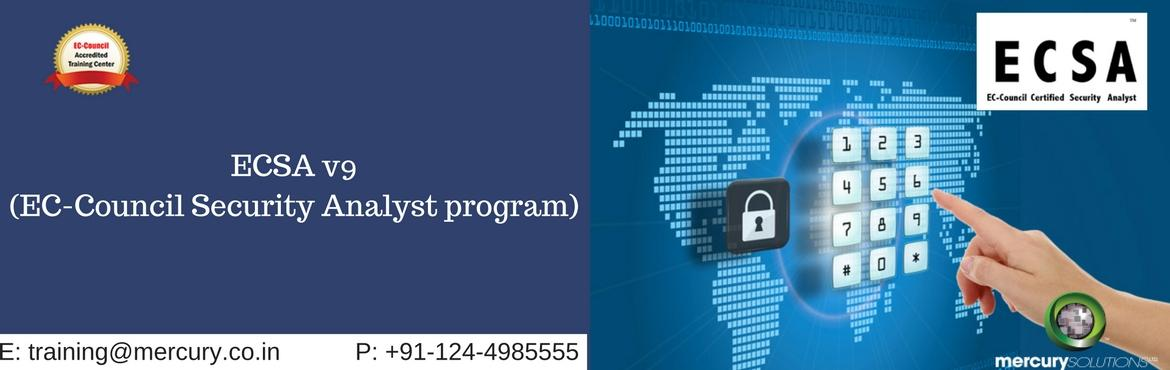 Book Online Tickets for Learn To Analyze, Secure, And Defend Net, Gurugram. ESCA OR EC-Council Security Certified Analyst training helps to perform an effective assessment of the threats and the risks that can tamper the network security. The training course helps the candidates to understand various ways through which