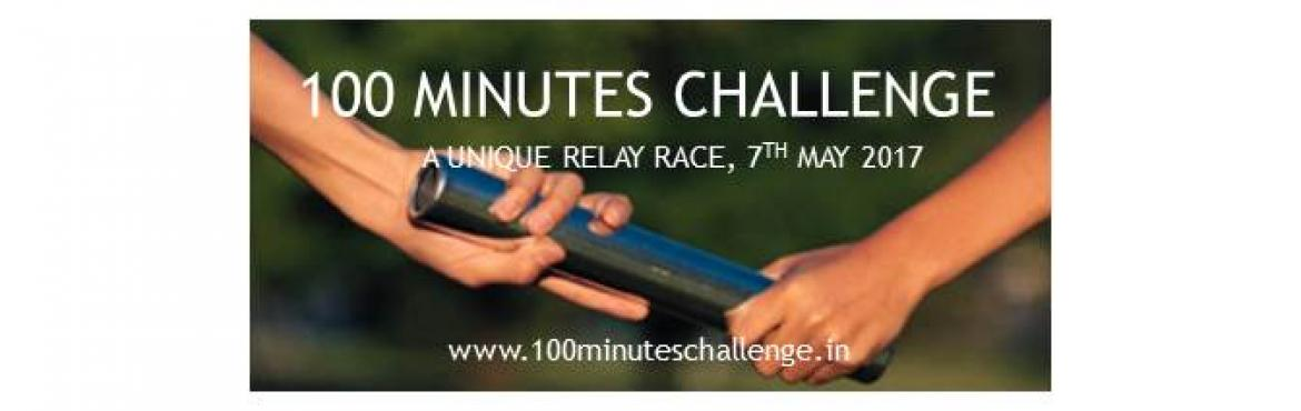 Book Online Tickets for 100 Minutes Challenge - Edition 4 , Pune.  When is the race?  The race is on Sunday, 7th May, 2017.  What is the venue?  Trinity College of Engineering and Research, Kondhwa-Saswad Road, Near Bopdev Ghat, Pune 411048  Is it a team event?        Yes, it is a team event. Yo