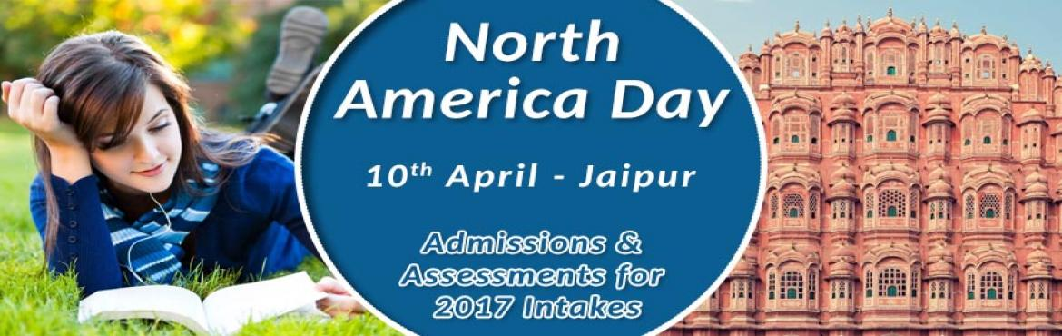 "Book Online Tickets for Study In Usa Or Canada North America Day, Jaipur. In the light of recent accomplishments of both USA and Canada positioning themselves well on QS world university rankings, The Chopras are delighted to announce the ""NORTH AMERICA DAY"" in Jaipur.   Students aspiring for higher educat"