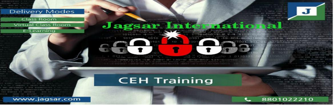 Book Online Tickets for Certified Ethical Hacking(CEH) v9 Traini, Hyderabad.  Hello,  How are you? Have a Good Day...!!  Certified Ethical Hacker(CEH) is to help out various companies to take the requisite measures against dangerous attacks, and also with continuous attacking of the systems, though being within le