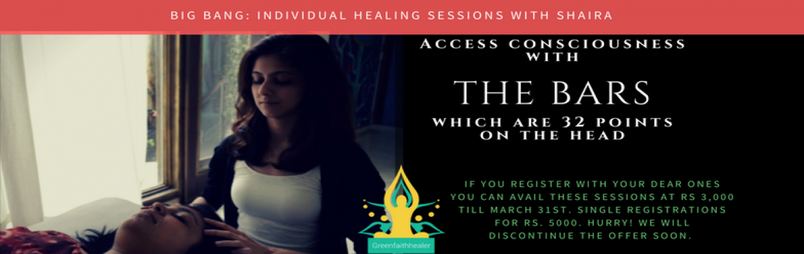 Book Online Tickets for Bin Bang : Individual Healing Sessions w, NewDelhi.  Would you like to let go of the overwhelm, stress, anxiety and enter the space of peace and calm? What if every choice you made, created more awareness about your gifts, capacities & talents? Would you like to have access to tools and proc