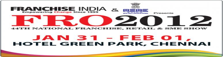 Book Online Tickets for Franchise Retail Opportunity Show 2012, Chennai.  
