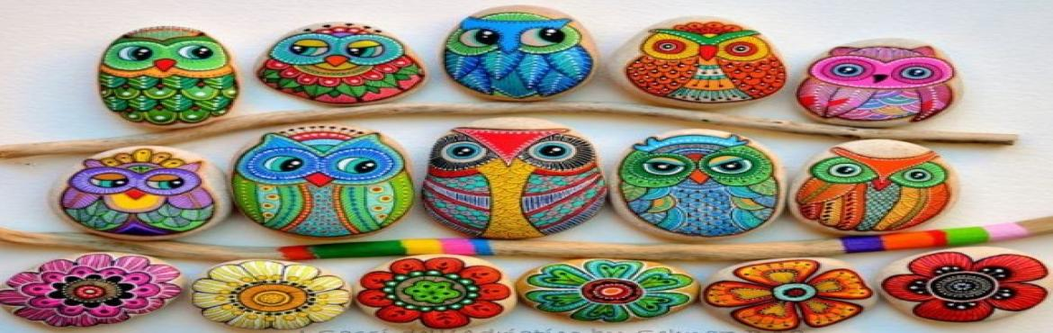 Book Online Tickets for Social Sunday, Stone Art And Coffee Meet, Pune. Enjoy your Sunday with your family or friends with an interesting art workshop over a cuppa coffee..Bring along as many people as you\'d like..The more the merrier! Learn to create animated art and 3D art on stones! They\'re great to add some quirk t