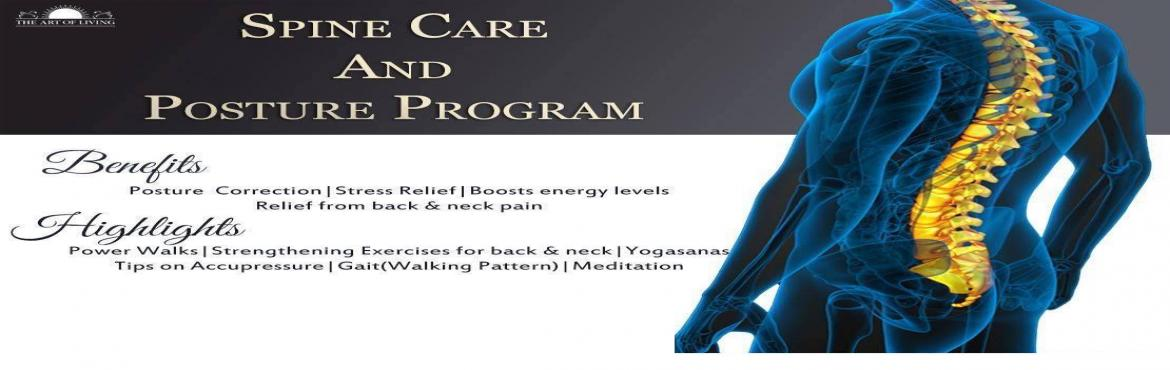 "Book Online Tickets for Spine Care and Posture Program, Bengaluru. Spine Care and Posture Program        Aims to promote ""Health and happiness"" for all. Why Spine Care & Posture Program ? Association of Spine Surgeons say that few pilot studies have suggested higher"