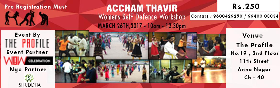 Womens Self Defence Workshop - March 26th