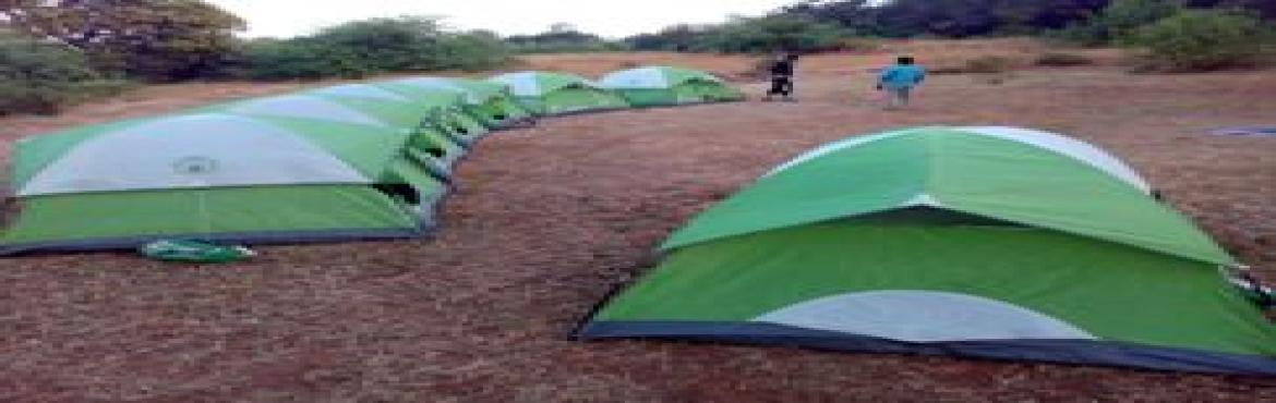 Camping Rajmachi Village near Lonavala on 29th 30th April 2017