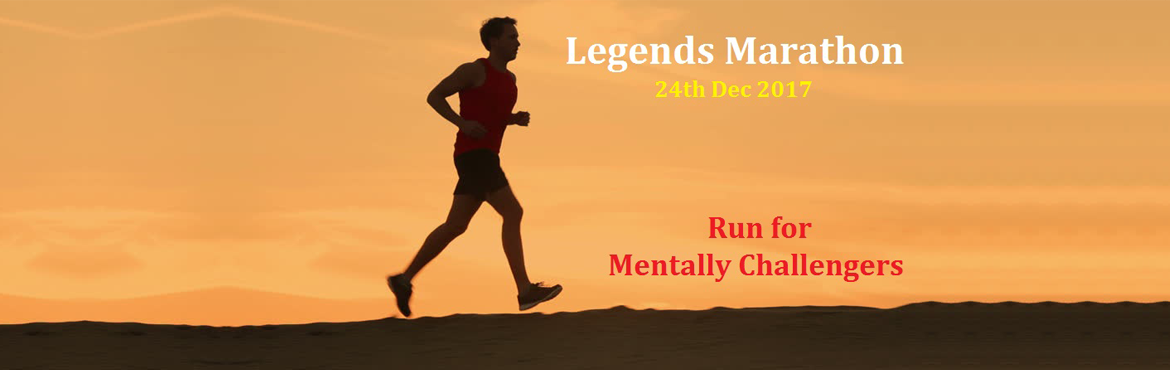 "Book Online Tickets for Legends Marathon - Run For Mentally Chal, Chennai. Let's Feed Chennai is planning to organize the ""Legends Marathon"", a 10 Km run at Marina Beach on Sunday 24th December 2017 starting at 6.00 am from Light house. This 10 Km run will have 2 loops of 5 Km each. Water & Electrolyte"