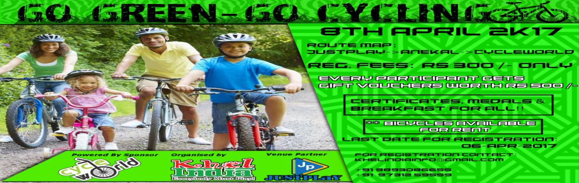 Go Green - Go Cycling