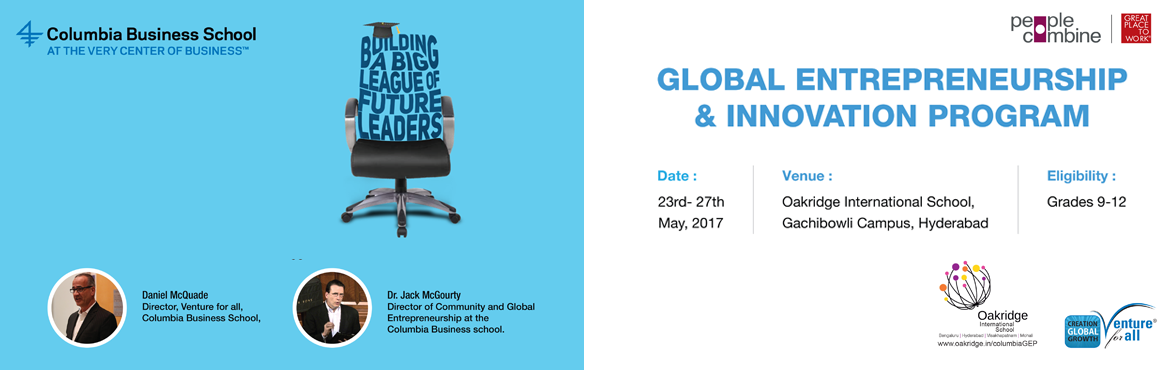 Columbia Global Entrepreneurship and Innovation Program