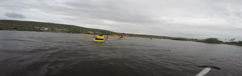 Kayaking at Mangamaripeta (Black Water)