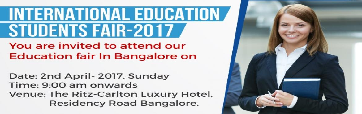 International Education Students Fair 2017- @ Bangalore