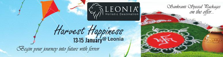 Book Online Tickets for Harvest Happiness @ Leonia, Hyderabad. Begin your journey into future with fervor  Sankranti Special Packages on the offer.... Wholesome Sankranti(Two Nights Three Days' Package)-13th-15th JanRegister Now WelcomeSankranti (One Night Two Days' Package)-13th