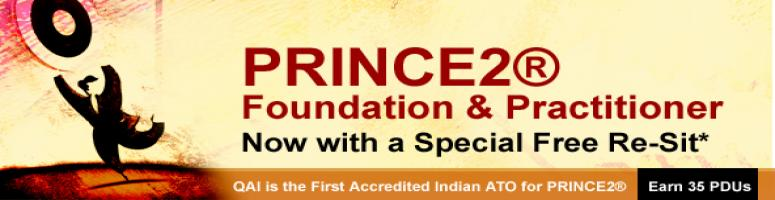 PRINCE 2 Foundation & Practitioner @ Bangalore