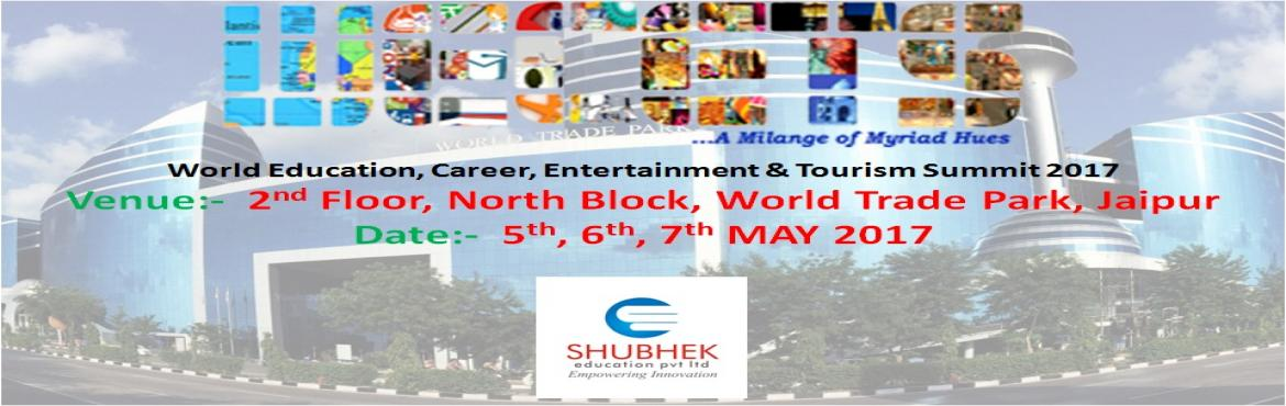 Book Online Tickets for Education Fair 2017, Jaipur. Welcome to WECETS!Shubhek Education Private Limited had initiated the first ever 3-day World Education,Career,Entertainment & Tourism Summit (WECETS), an initiative of the PHD Chamber of Commerce & Industry, Jaipur . Due to the exams of 12th
