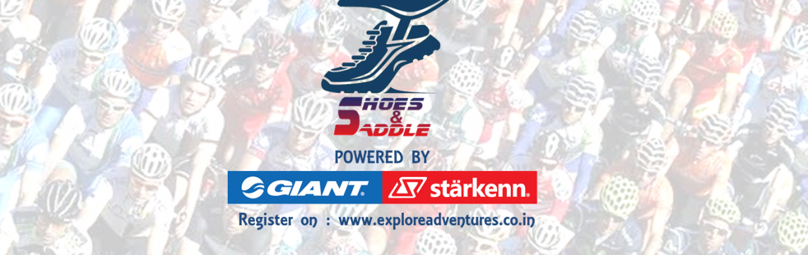 Book Online Tickets for Shoes-n-Saddle - Phulgaon Duathlon - 3, Pune.  FORMAT   A timed Duathlon with an order Run-Cycle-Run. You can choose to compete as a Solo participant or in a Relay format of one runner and one cyclist.   DISTANCE IN THE ORDER OF EVENTS-   4.25 kms running on trail 25 kms cycling o