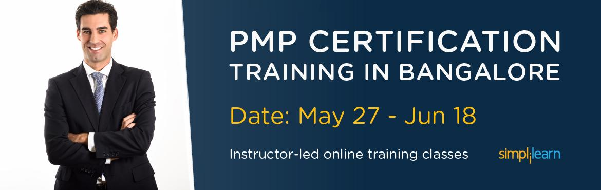 PMP Certification Training in Bangalore | Online Classroom Program
