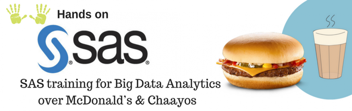 Book Online Tickets for Introduction to Big Data Analytics with , Gurugram. Why?   This course will help you: get a good understanding of analytics.    Decide if data analytics is the career for you. Give you an understanding of the tools and techniques used in the analytics industry.  &nbs