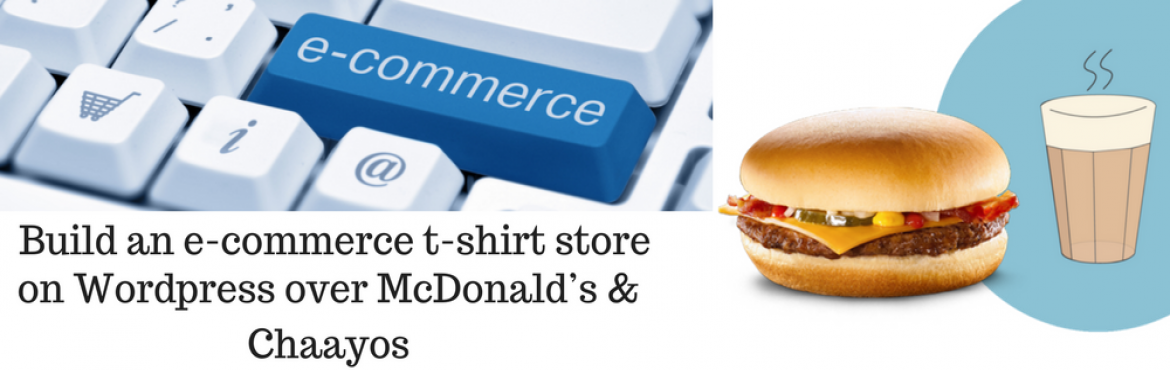 E-commerce workshop with McDonalds and Chaayos