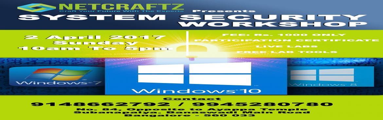 SYSTEM SECURITY WORKSHOP