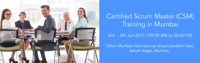 Certified Scrum Master (CSM) Training in Mumbai