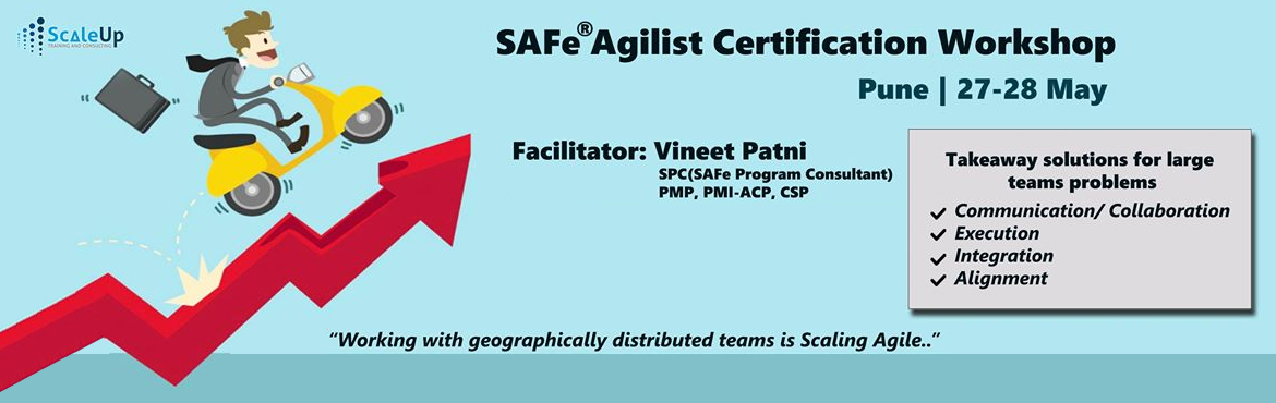 Book Online Tickets for SAFe Agilist Certification, Pune (May 20, Pune. About SAFe Agilist Certification Workshop:   The SAFe® Agilist certification is especially designed for agile leaders, project, program and portfolio managers who work in a scaled agile set-up. The SAFe Agilist certification p