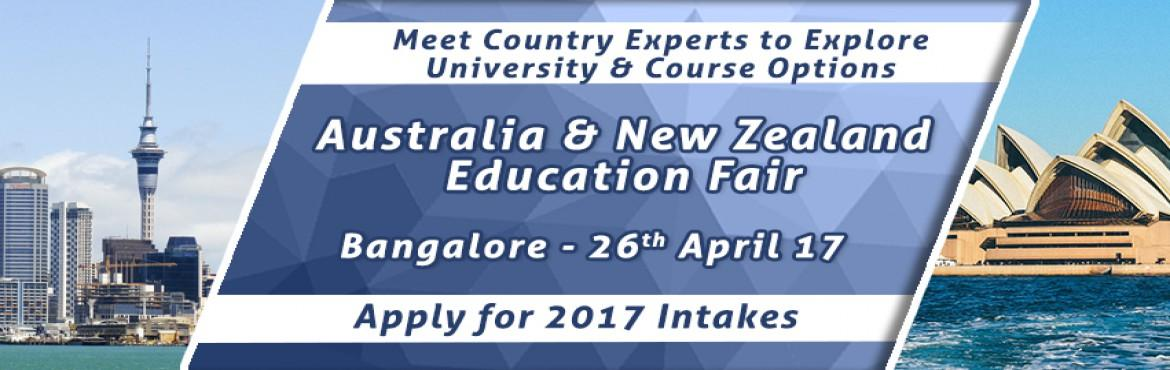 Australia-New Zealand EduFair By The Chopras -  Bangalore