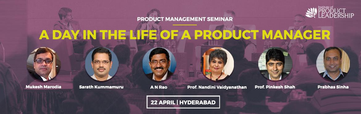 Book Online Tickets for Day in the life of a Product Manager- Se, Hyderabad. To become a great product leader (whether you're a product manager or not), you must first understand your career anchors - your motivations, strengths and challenges. You must then understand the market - what it takes to innovate out of India