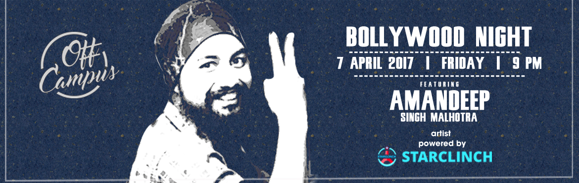 Amandeep Singh Malhotra Live at Off Campus - Powered by StarClinch
