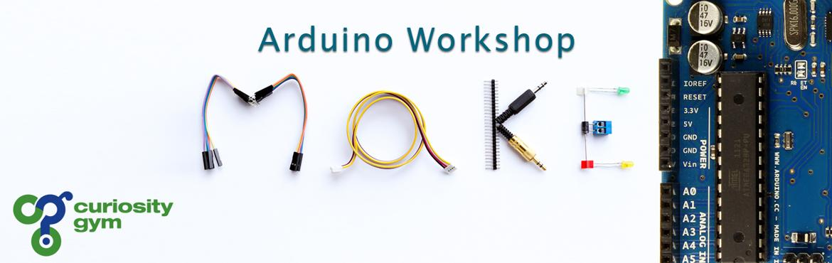 Book Online Tickets for Arduino and IoT Workshop, Mumbai. This course is designed for anyone interested in learning electronic design. No experience is required, and you are provided an Arduino and several low cost components to use at the workshop.This course is designed to enable \