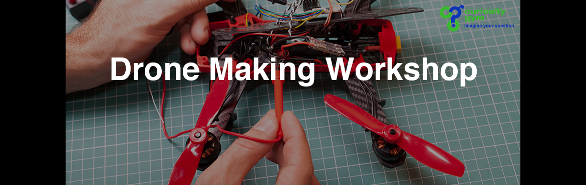 Book Online Tickets for Make Your Own Drone Workshop, Mumbai. Aone day workshop to familiarise the participants with drones, teach them basics and intricacies of a quad copter, enable them to build a quad copter themselves and experience the pleasure of flying self-built drone. What it is about: Quad copt