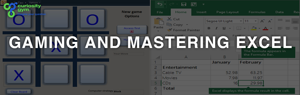 Book Online Tickets for Gaming and Masterng Excel, Mumbai. Book your favourite movie ticket this Summer. Learn Advanced Excel through a Ticket Booking application that incorporates formulas, conditional formatting, data validation and using IF condition with formulas. All in one in a fun way!! So, gear up to