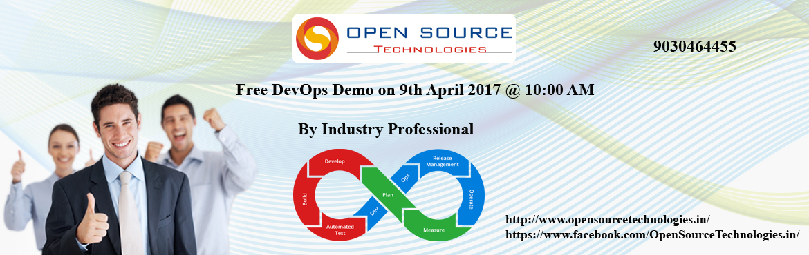 Join Free DevOps Demo with Industry Professionals - Open Source Technologies