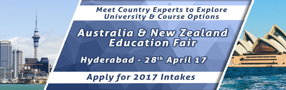 Book Online Tickets for Australia-New Zealand EduFair By The Cho, Hyderabad. Considered as one of the top three overseas education destinations for international students in the world, Australia offers the best of science, research, technology and the world class academic qualifications!  Whereas, New Zealand is renowned for