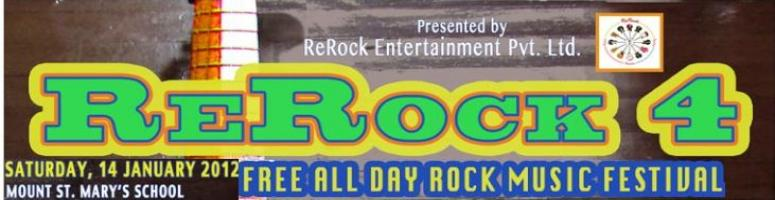 ReRock 4 Music Festival @ Mount St. Mary\'s School - Delhi