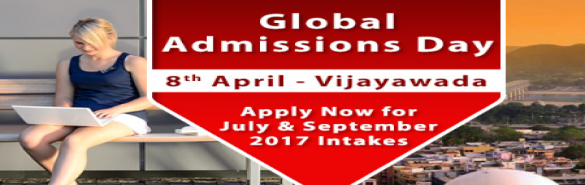 Book Online Tickets for Global Admissions Day 2017, Vijayawada, Vijayawada.    Free Counseling Guidance & Shortlisting | IELTS & Test Preparation* | Visa Guidelines The Chopras are delighted to announce the "|1170|370|?|f0ca3ee8470f396742a2f8be102d94c1|False|UNLIKELY|0.3568302392959595