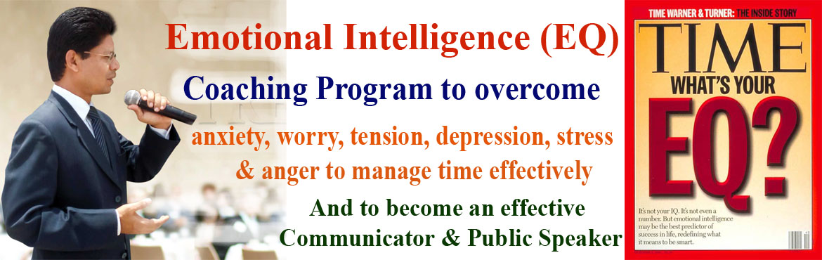 Book Online Tickets for EQ Coaching to be an effective Communica, Hyderabad. One of the main reasons why a manager gets stressed if the job delegated to the subordinate is not completed in time and the productivity is not up to the expectation. In most cases manager blames the subordinates. One of the main reasons for not get