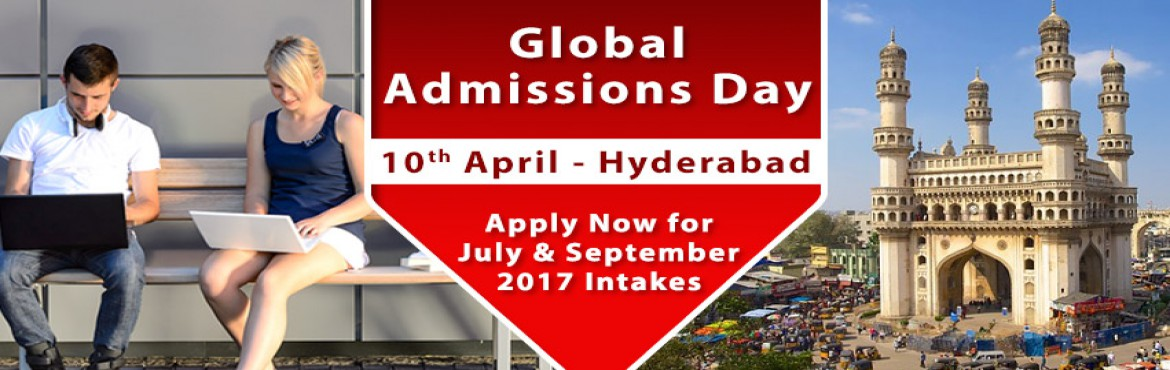 Book Online Tickets for Global Admissions Day Hyderabad - UK, Si, Hyderabad. Global Admissions Day Hyderabad - UK, Singapore, Australia, Switzerland   Free Counseling Guidance & Shortlisting | IELTS & Test Preparation* | Visa Guidelines   The Chopras are delighted to announce the "|1170|370|?|e4b832cee22bc541faf4cbac574de147|False|UNLIKELY|0.38566744327545166
