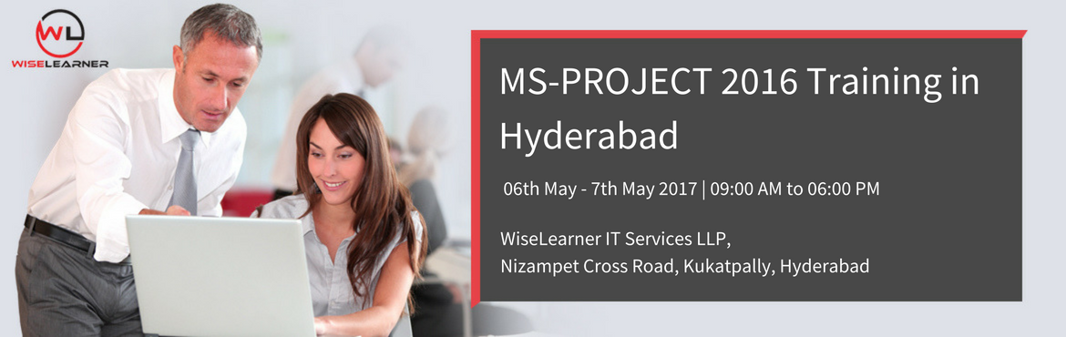 Book Online Tickets for MS Project Training in Hyderabad, Hyderabad. OVERVIEW Microsoft Project is the most widely used tool for project scheduling across industries. However, due to lack of proper training and knowledge about the capabilities of MS Project, only a small fraction of project managers uses MS Project to