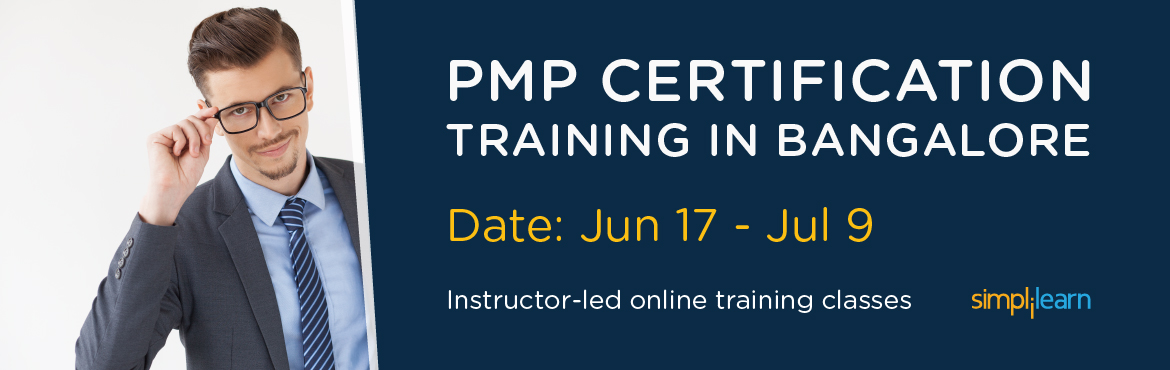 PMP Certification Training in Bangalore   Online Classroom Program
