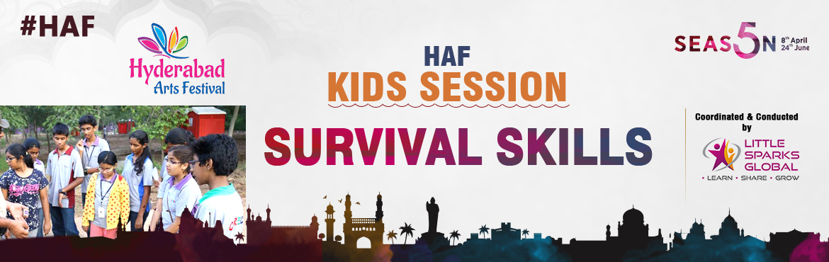 Book Online Tickets for HAF - Survival Skills, Secunderab. Survival Skills - 2nd July 2017 In Association with NCC-1TS EME Batallion Venue: Bison Polo Grounds, Secunderabad  Good habits should be inculcated at the tender age. However, in the tech savvy scenario, kids are missing on the essence of l