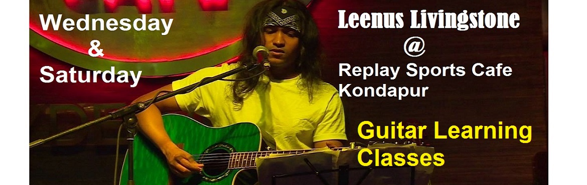 Learn Guitar From An International Expert - Leenus Livingstone