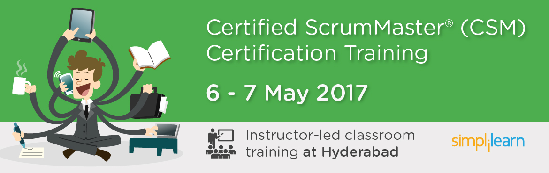CSM Certification Training in Hyderabad | Classroom Training Program