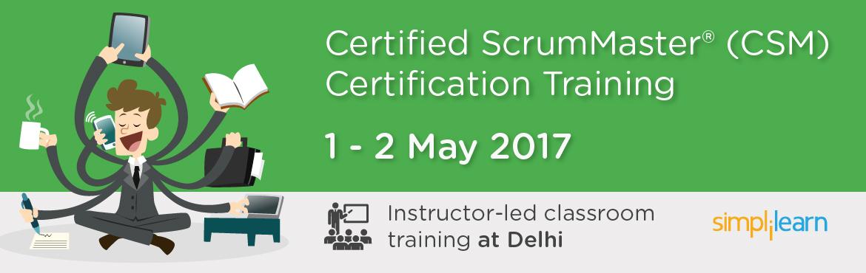 CSM Certification Training in Delhi| Classroom Training Program