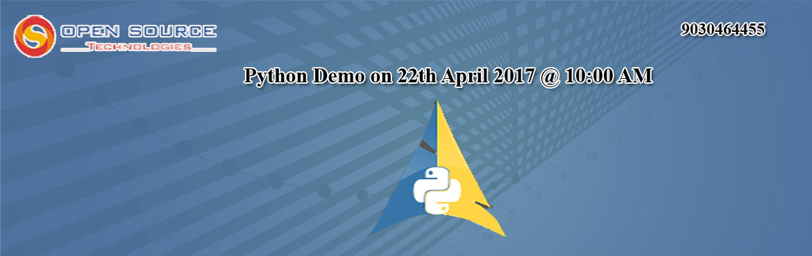 Attend Free Python Demo with Industry Veterans at Open Source Technologies