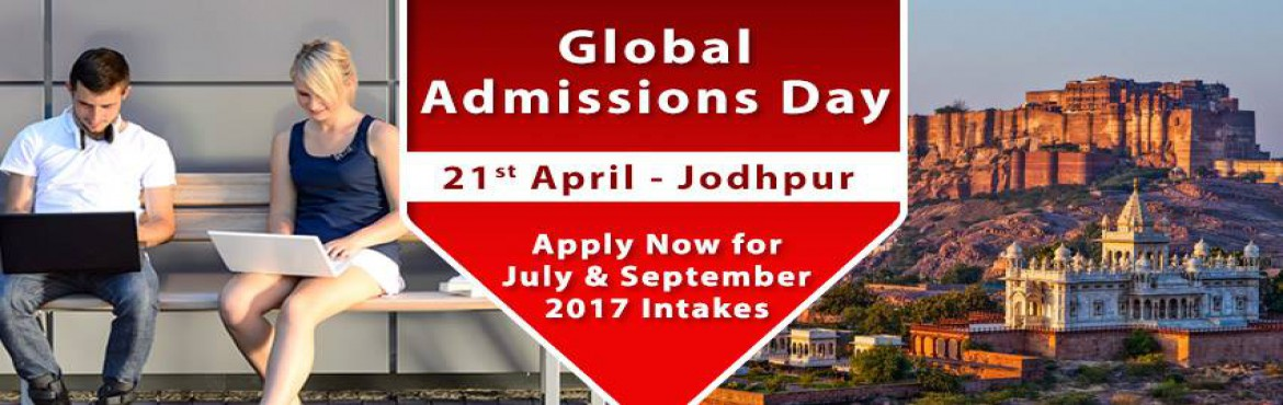 Book Online Tickets for Global Admissions Day Jodhpur - UK, Sing, Jodhpur. Free Counseling Guidance & Shortlisting | IELTS & Test Preparation | Visa Guidelines   The Chopras are delighted to announce the "|1170|370|?|4f8de2751f61e38a2110293cc4e47923|False|UNLIKELY|0.40174245834350586