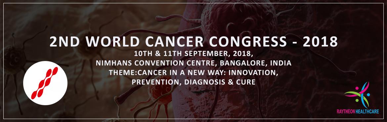 2nd World Cancer Congress - 2018
