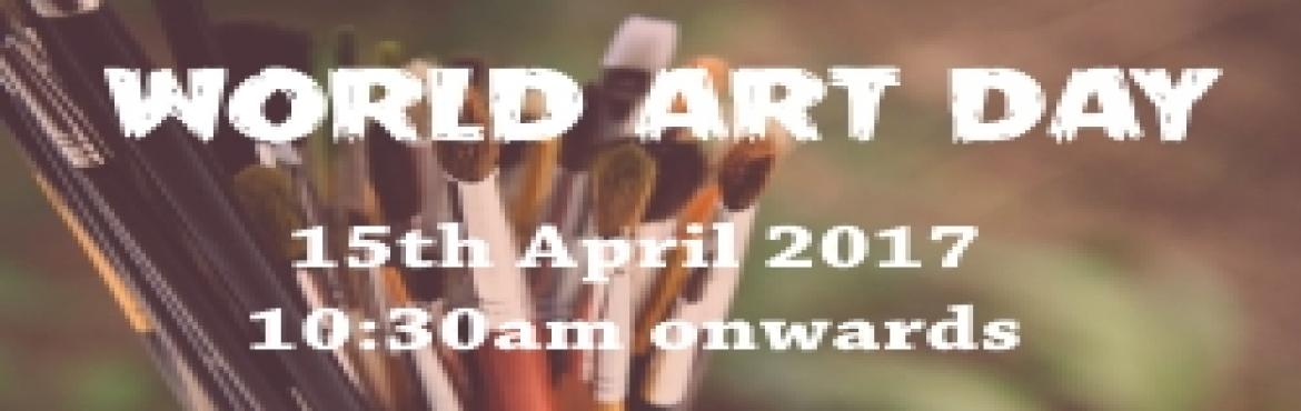 Book Online Tickets for World Art Day in Goa, Margao. Come celebrate \