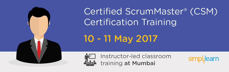 CSM Certification Training in Mumbai| Classroom Training Program
