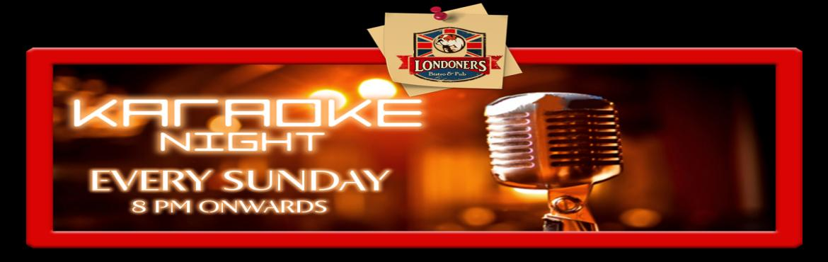 Book Online Tickets for Karaoke Night On Sunday Night, NewDelhi. Karaoke Night on Sunday Night  Are you crazy about singing and look up a chance to hold mic to just start on ??;)